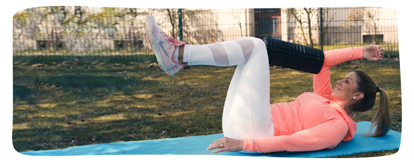 Carolin Triller aus der Marketingabteilung macht Sport