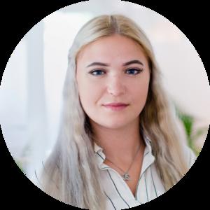 Porträt von Ansprechpartnerin Katharina Belyaev
